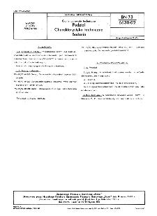 Gumy porowate techniczne - Podział - Charakterystyka techniczna - Badania BN-73/6630-02