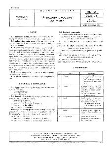 Przetwory owocowe do mięsa BN-88/9233-03