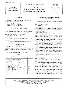Odczynniki - Pirosiarczyn potasowy (Dwusiarczyn potasowy) BN-88/6191-153