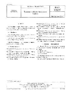 Tłuszcze roślinne techniczne bielone BN-71/6132-05 /
