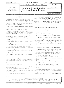 Metody badań cech fizykochemicznych ziemi bielącej do rafinacji olejów jadalnych BN-71/8054-03