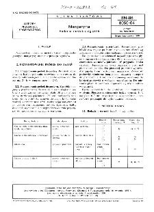 Margaryna - Badania mikrobiologiczne BN-86/8050-04