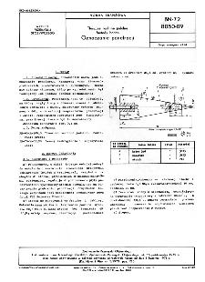 Tłuszcze roślinne jadalne - Metody badań - Oznaczanie penetracji BN-72/8050-09