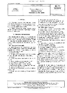 Tłuszcze roślinne jadalne - Metody badań - Oznaczanie zawartości miedzi BN-75/8050-11