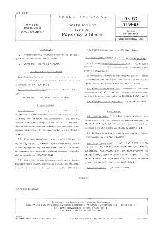 Wyroby tytoniowe - Papierosy - Papierosy z filtrem BN-80/8139-09