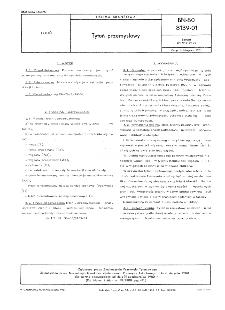 Tytoń przemysłowy BN-80/8139-01