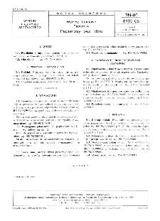 Wyroby tytoniowe - Papierosy - Papierosy bez filtru BN-80/8139-08