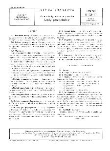 Koncentraty lodów w proszku - Lody poznańskie BN-89/8133-11
