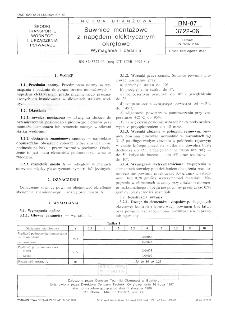 Suwnice montażowe z napędem elektrycznym okrętowe - Wymagania i badania BN-87/3722-06