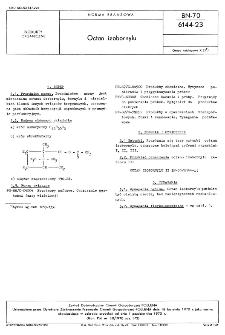 Octan izobornylu BN-70/6144-23