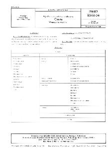 Wyroby i półprodukty ciastkarskie - Ciasta - Wymagania wspólne BN-82/8098-04
