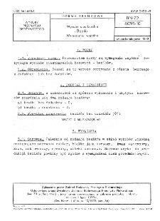 Wyroby ciastkarskie - Beziki - Wymagania wspólne BN-72/8098-10