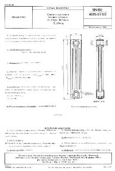 Centralne ogrzewanie - Grzejniki odlewane ze stopów aluminium - Człony BN-80/4815-07.02