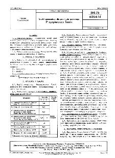 Środki pomocnicze dla przemysłu gumowego - Przyspieszacz Tiazin BN-75/6064-14