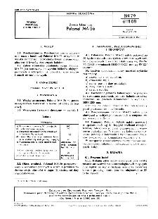Żywice lakiernicze - Polomal MA-56 BN-79/6111-08