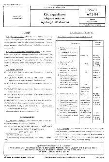 Kity szpachlowe olejno-żywiczne ogólnego stosowania BN-73/6112-04