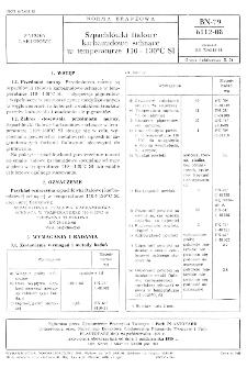 Szpachlówki ftalowe karbamidowe schnące w temperaturze 110 - 130° C SI BN-79/6112-08