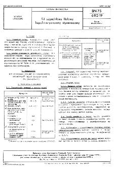 Kit szpachlowy ftalowy kopolimeryzowany styrenowany BN-75/6112-19