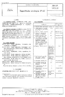 Szpachlówka emulsyjna JP-60 BN-69/6112-21