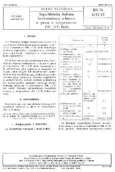 Szpachlówka ftalowa karbamidowa schnąca w piecu w temperaturze 160±5° C BN-76/6112-25