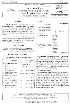 Farba bitumiczna do gruntowania dla okrętownictwa do podwodnych drewnianych części statków BN-75/6113-05