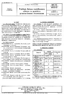 Podkłady ftalowe modyfikowane schnące na powietrzu przeciwrdzewne chromianowe BN-70/6113-13