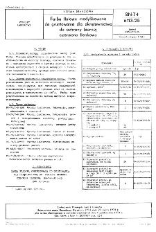 Farba ftalowa modyfikowana do gruntowania dla okrętownictwa do ochrony biernej czerwona tlenkowa BN-74/6113-25