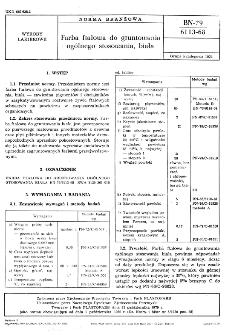 Farba ftalowa do gruntowania ogólnego stosowania, biała BN-79/6113-68