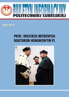 Biuletyn Informacyjny Politechniki Lubelskiej nr 24 - 2(24)2010