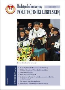Biuletyn Informacyjny Politechniki Lubelskiej nr 25 - 3(25)2010