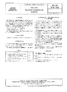 Odczynniki - Sześciometafosforan sodowy BN-80/6191-169