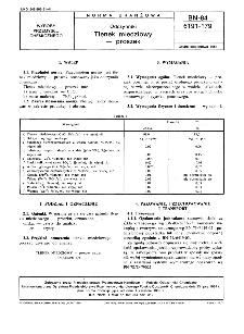 Odczynniki - Tlenek miedziowy - proszek BN-84/6191-179