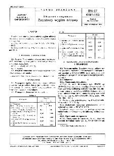 Odczynniki nieorganiczne - Zasadowy węglan niklawy BN-87/6191-183