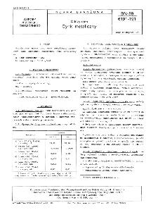 Odczynniki - Cynk metaliczny BN-89/6191-191