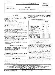 Odczynniki - Czterochlorek krzemu BN-72/6193-33