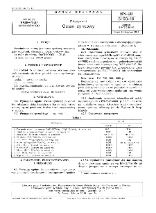 Odczynniki - Octan cynkowy BN-90/6193-40