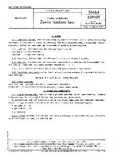 Żywice syntetyczne - Żywice fenolowe lane BN-64/6311-02