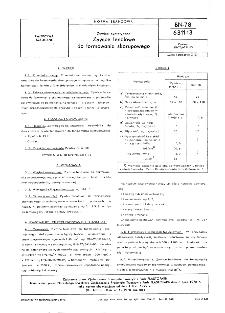 Żywice syntetyczne - Żywice fenolowe do formowania skorupowego BN-78/6311-13