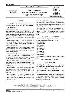 Żywice syntetyczne - Żywice fenolowe techniczne typu nowolakowego BN-78/6311-16
