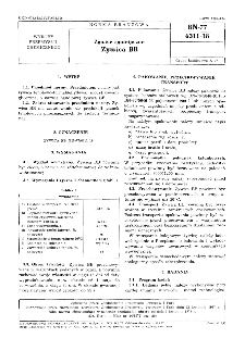 Żywice syntetyczne - Żywica BB BN-77/6311-18