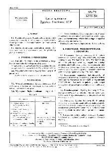 Żywice syntetyczne - Żywica fenolowa 01 P BN-79/6311-20