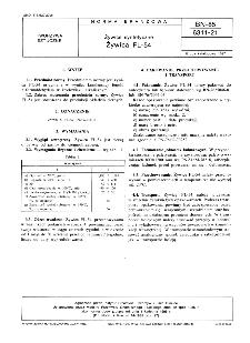 Żywice syntetyczne - Żywica FL-54 BN-85/6311-21