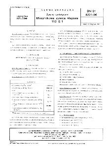 Żywice syntetyczne - Mocznikowa żywica klejowa BN-81/6321-06