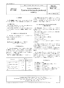 Żywice syntetyczne - Żywice aminowe do produkcji okleiny BN-84/6321-07