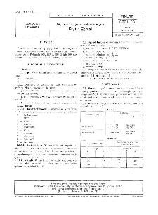 Wyroby z żywic poliestrowych - Płyty Estral BN-88/6331-03