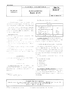 Żywice poliestrowe - Poles 50/23 BN-74/6335-01