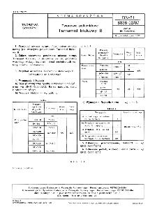 Tworzywa poliamidowe - Tarnamid blokowy B BN-81/6336-02/07