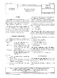 Tworzywa sztuczne - Winacet DP BN-74/6351-01