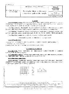 Przekładki faliste perforowane z twardego polichlorku winylu BN-63/6354-01