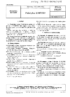 Polietylen II 003/GO BN-72/6364-01